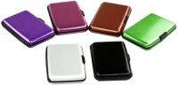 Glitters Pack Of 6 10 Card Holder (Set Of 6, Multicolor)