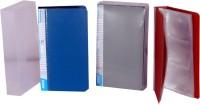 Ananda Sales 240 Card Holder (Set Of 3, Multicolor)