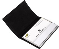 Trio 20 Card Holder (Set Of 2, Black)
