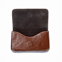 Leaf LVCHB02, 50 Card Holder (Set Of 1, Brown)