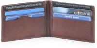 Hide & Sleek 8 Card Holder (Set Of 1, Brown)