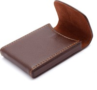VeeVi 20 Card Holder (Set Of 1, Brown)