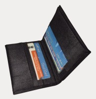 Indha Craft 6 Card Holder (Set Of 1, Black)