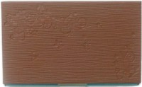 Aardee 20 Card Holder (Set Of 1, Brown)