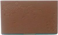 Aardee 20 Card Holder (Set Of 1, Brown)