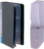 Aahum Sales 240 Card Holder (Set Of 1, Grey)