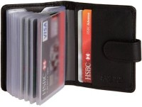 Hide & Sleek Soft Leather Credit 20 Card Holder: Card Holder