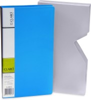 Claro Sleek And Durable 480 Card Holder (Set Of 1, Blue)
