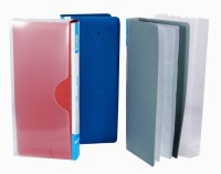 Aahum Sales 480 Card Holder (Set Of 3, Multicolor)