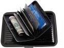Aashirwad Craft Credit Card Holder, 6 Card Holder - Set Of 1, Black
