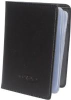 Aam Shopping Soft Leather 10 Card Holder Set Of 1, Black