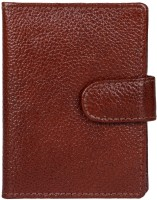 BLUWHALE 20 Card Holder (Set Of 1, Brown)
