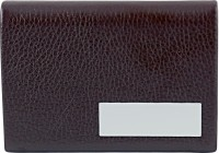 U. R. GOD 20 Card Holder (Set Of 1, Brown, Orange)