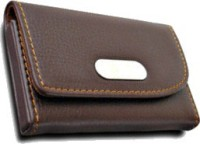 U.R.God 20 Card Holder (Set Of 1, Brown)