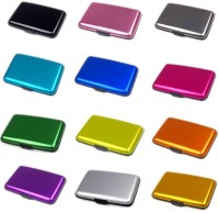 Glitters Pack Of 12 10 Card Holder (Set Of 12, Multicolor)