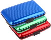 Jack Klein 6 Card Holder (Set Of 3, Multicolor)