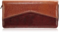 Aqa Mens Chq04, 100 Card Holder (Set Of 1, Brown)