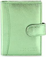 Hide & Sleek Soft Leather 20 Card Holder Set Of 1, Green