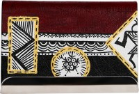 Rangrage Visiting Card Holder Warli Art, 50 Card Holder (Set Of 1, Multicolor)