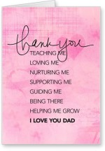 Lolprint Thank You Dad Fathers Day