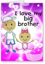 Lolprint I LOVE my Big Brother Rakhi