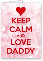 Lolprint Keep Calm Father's Day
