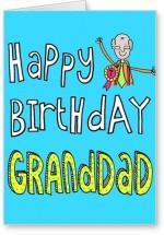 Lolprint Happy Birthday No. 1 Grand Dad