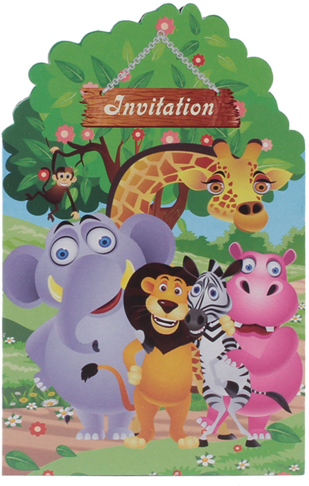 buy themez only jungle invitation card on flipkart paisawapas com