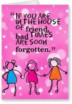 Lolprint Friend House Friendship Day