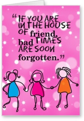 Lolprint Friend House Friendship Day
