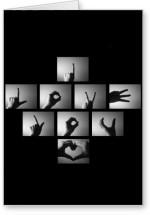 Lolprint Fingers I Love You