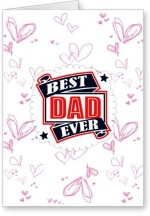 Lolprint Best Dad Ever Fathers Day