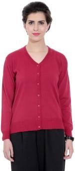 Tab 91 Women's Button Solid Cardigan - CGNEBY6YBBXZX28G