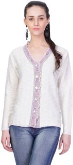 Montrex Women's Button Solid Cardigan - CGNEDJXRVGYF33SZ