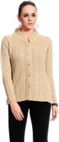 Tab 91 Women's Button Self Design Cardigan - CGNE282F4H9EGBFF