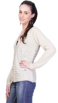 Montrex Women's Button Solid Cardigan - CGNEDJXRNVBY4BGW