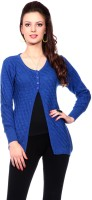 Tab 91 Women's Button Self Design Cardigan - CGNEF5XDKAZHUBYH