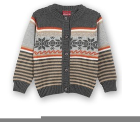 Lilliput Baby Girl's Button Striped Cardigan