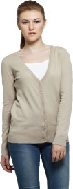 Altamoss Women's Button Solid Cardigan