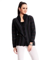 Tab 91 Women's Button Self Design Cardigan - CGNE26PMMHZEMMTQ