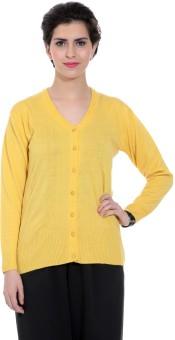 Tab 91 Women's Button Solid Cardigan - CGNEBY6YHTJFDJTC