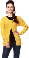 Tab 91 Women's Button Self Design Cardigan - CGNEF5XDQHSTYRKM
