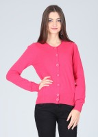 United Colors of Benetton Women's Button Solid Cardigan