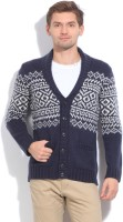 United Colors Of Benetton Men's Button Printed Cardigan - CGNEFGA7VWZEGTNG