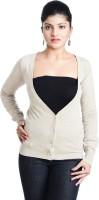Aussehen Women's Button Solid Cardigan - CGNE2HX7NBDDFN8X