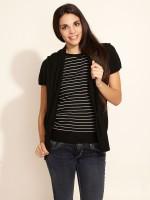 Taanz Women's Stripes Cardigan