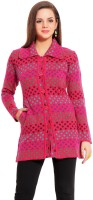 Tab 91 Women's Button Polka Print Cardigan - CGNEFMMVUVEXXZZJ