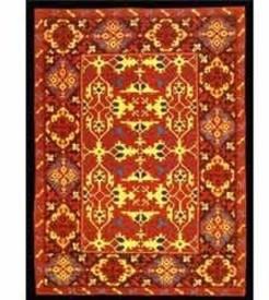 Ksitara Beige Cotton Wool Blend Carpet