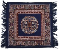 FG Dark Blue Cotton Area Rug 51 Cm  X 51 Cm