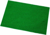 Ritika Carpets Door Mat Truf Cotton Polyester Blend Carpet Green